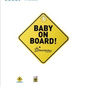 **free add on*** baby in on board car sign